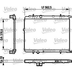 Radiador, refrigeración del motor Número de artículo 732890 120,00€