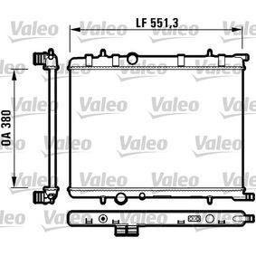 Radiador, refrigeración del motor Número de artículo 732908 120,00€