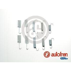 Zubehörsatz, Feststellbremsbacken D31001A CRAFTER 30-50 Kasten (2E_) 2.5 TDI Bj 2011