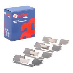 Zubehörsatz, Scheibenbremsbelag D42402A TWINGO 2 (CN0) 1.5 dCi Bj 2020