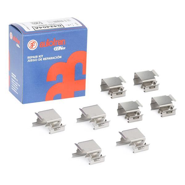 Image of AUTOFREN SEINSA Kit accessori, Pastiglia freno 8430320211688