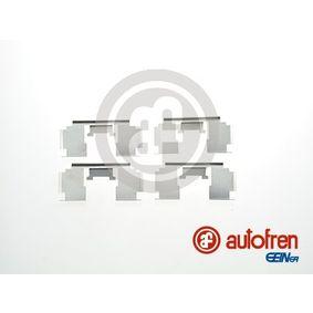 Комплект принадлежности, дискови накладки D42484A 25 Хечбек (RF) 2.0 iDT Г.П. 2003
