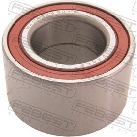 Cojinete de rueda DAC40740042 COROLLA (ZZE12_, NDE12_, ZDE12_) 1.8 4WD ac 2005