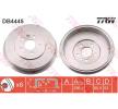 Frenos de tambor TRW 10992942