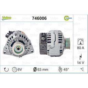 746006 VALEO A13VI95 in Original Qualität