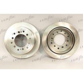 Disque de frein Épaisseur du disque de frein: 18mm, Ø: 312mm avec OEM numéro 42431 60200