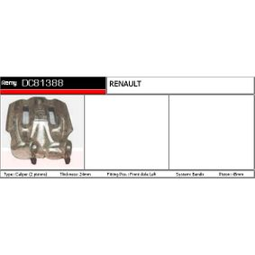 Brake Caliper Brake Disc Thickness: 9mm with OEM Number 4401 1EM 11A