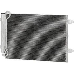 Kondensator, Klimaanlage Netzmaße: 628x374x16, Kältemittel: R 134a mit OEM-Nummer 3M5H-19710-CA