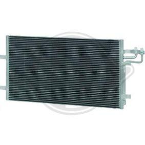 Kondensator, Klimaanlage Kältemittel: R 134a mit OEM-Nummer 3M5H19710CC
