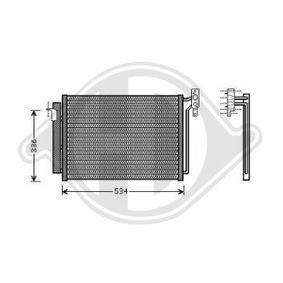 Kondensator, Klimaanlage DCC1567 X5 (E53) 3.0 d Bj 2006