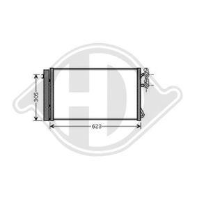 Kondensator, Klimaanlage DCC1569 1 Schrägheck (E87) 118d 2.0 Bj 2011