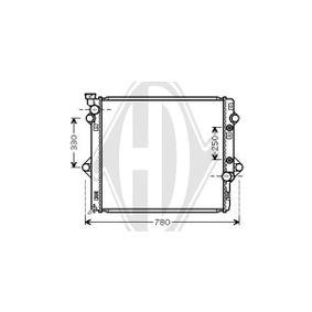 Kondensator, Klimaanlage Kältemittel: R 134a mit OEM-Nummer 6455-CV