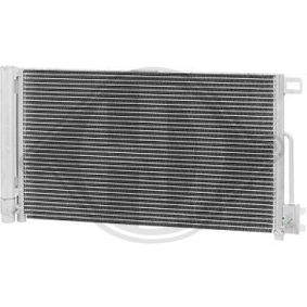 Kondensator, Klimaanlage Kältemittel: R 134a mit OEM-Nummer 51931470
