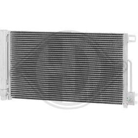 Kondensator, Klimaanlage Kältemittel: R 134a mit OEM-Nummer 13 310 103