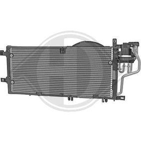 Kondensator, Klimaanlage Kältemittel: R 134a mit OEM-Nummer 13126764