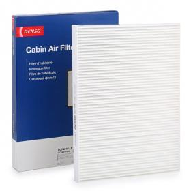 Filter, interior air Length: 280mm, Width: 205mm, Height: 25mm with OEM Number 1 H0 819 644