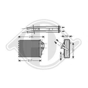 Heat Exchanger, interior heating DCM1083 PANDA (169) 1.2 MY 2016