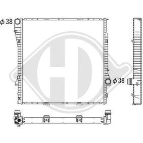Kühler, Motorkühlung DCM1576 X5 (E53) 3.0 d Bj 2006