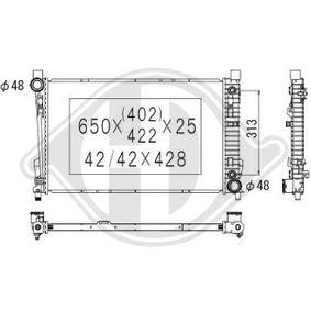 Radiador para MERCEDES-BENZ Clase C Coupé (CL203) C200