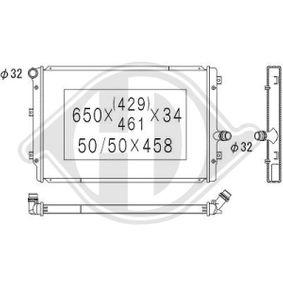 Kühler, Motorkühlung mit OEM-Nummer 1K0 121 251DD
