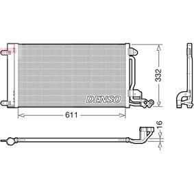 Kondensator, Klimaanlage Kältemittel: R 134a mit OEM-Nummer 6R0 820 411 T