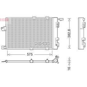 Kondensator, Klimaanlage Kältemittel: R 134a mit OEM-Nummer 9139610