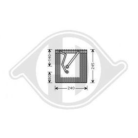 Výparník, klimatizace DCV1134 Octa6a 2 Combi (1Z5) 1.6 TDI rok 2012