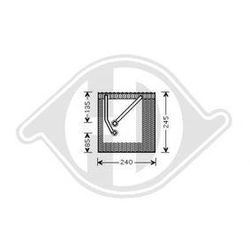 Výparník, klimatizace DCV1135 Octa6a 2 Combi (1Z5) 1.6 TDI rok 2013