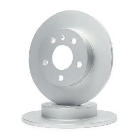Bremsscheibe Bremsscheibendicke: 10mm, Lochanzahl: 5, Ø: 264mm mit OEM-Nummer 95 526 658