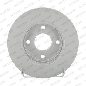 Brake Disc Brake Disc Thickness: 22mm, Num. of holes: 4, Ø: 258mm with OEM Number 98AG-1125-EA