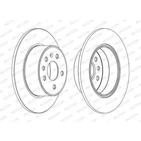 Bremsscheibe Bremsscheibendicke: 10mm, Lochanzahl: 5, Ø: 286mm mit OEM-Nummer 45 65 693