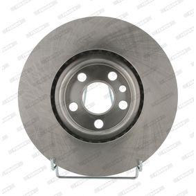 Bremsscheibe Bremsscheibendicke: 22mm, Lochanzahl: 4, Ø: 266mm mit OEM-Nummer 1618890480