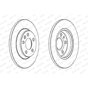 Bremsscheibe Bremsscheibendicke: 13,5mm, Lochanzahl: 5, Ø: 294mm mit OEM-Nummer 1 140 278