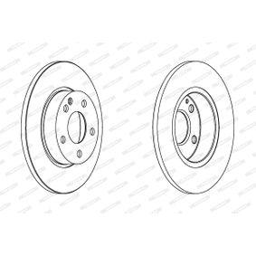 Bremsscheibe Bremsscheibendicke: 12mm, Lochanzahl: 5, Ø: 276mm mit OEM-Nummer A 169 421 00 12