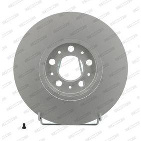 Bremsscheibe Bremsscheibendicke: 25mm, Lochanzahl: 5, Ø: 288mm mit OEM-Nummer 1J0.615.301K