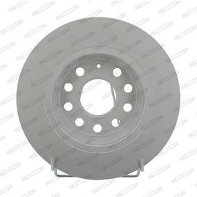 Bremsscheibe Bremsscheibendicke: 12mm, Lochanzahl: 5, Ø: 282mm mit OEM-Nummer 5Q0615601G