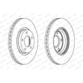 Brake Disc Brake Disc Thickness: 25mm, Num. of holes: 5, Ø: 300mm with OEM Number BP4Y-3325X-B