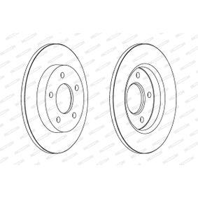 2011 Mazda 3 BL 1.6 MZR CD Brake Disc DDF1420C