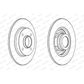 Bremsscheibe Bremsscheibendicke: 9mm, Lochanzahl: 4, Ø: 249mm mit OEM-Nummer 4249-34