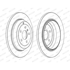 Спирачен диск DDF1530C M-класа (W164) ML 320 CDI 3.0 4-matic (164.122) Г.П. 2007
