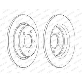 2006 Mazda 5 cr19 2.0 CD Brake Disc DDF1546C