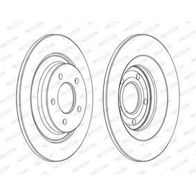 2006 Mazda 5 cr19 2.0 CD Brake Disc DDF1547C