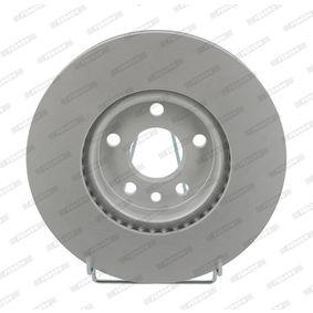 Bremsscheibe Bremsscheibendicke: 28mm, Lochanzahl: 5, Ø: 300mm mit OEM-Nummer 7G911125BA