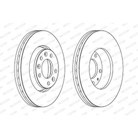 Brake Disc Brake Disc Thickness: 28mm, Num. of holes: 5, Ø: 280mm with OEM Number SU001A1064