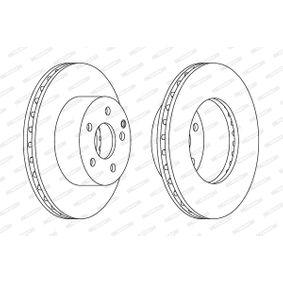 Disque de frein Épaisseur du disque de frein: 26mm, Nbre de trous: 5, Ø: 273mm avec OEM numéro 42431-60190