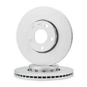Bremsscheibe Bremsscheibendicke: 25mm, Lochanzahl: 5,1, Ø: 288mm mit OEM-Nummer 4B0 615 301B