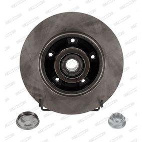 FERODO PREMIER DDF1732-1 Disco de travão Espessura do disco de travão: 8mm, N.º de furos: 5, Ø: 260mm