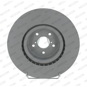 Bremsscheibe Bremsscheibendicke: 30mm, Lochanzahl: 5, Ø: 326mm mit OEM-Nummer 26300-FE010