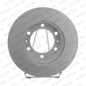 Disque de frein Épaisseur du disque de frein: 25mm, Nbre de trous: 6, Ø: 297mm avec OEM numéro 42431 60 190