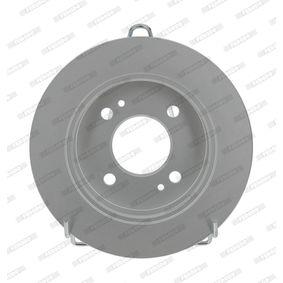 Bremsscheibe Bremsscheibendicke: 10mm, Lochanzahl: 4, Ø: 234mm mit OEM-Nummer G33Y 33 25X